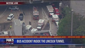 2 NJ Transit Buses Collide