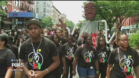 Harlem Children's Peace March draws almost 4,000 demonstrators