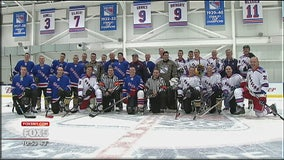 Veterans meet sports legends