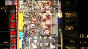 SkyFoxHD: Times Square fire
