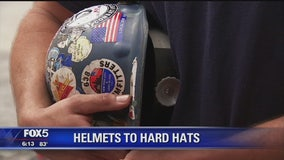 Organization helps veterans go from 'Helmets to Hardhats'