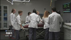 Medical training for teens
