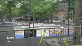 Recent upgrades at Williamsburg basketball court causing safety concerns