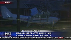Small plane crashes on Long Island