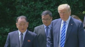 Trump meets N. Korean official