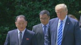 Trump meets N. Korean official