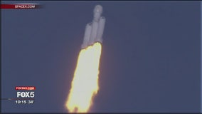 SpaceX rocket takes flight