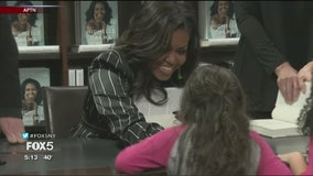 Michelle Obama in NYC