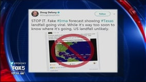 Beware fake storm forecasts