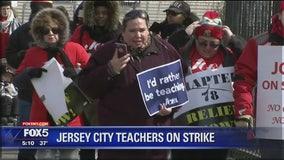 Jersey City teachers strike