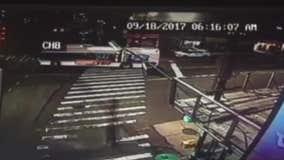 VIDEO: Buses collide in Queens