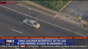 3 children struck by vehicle on Long Island