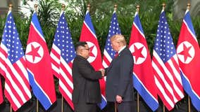 Historic Handshake: Trump and Kim