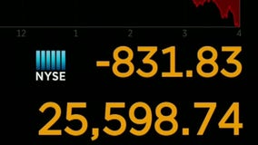 U.S. stocks plunge