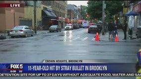 Boy, 11, shot by stray bullet