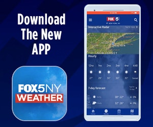 Download the FOX5NY Weather App