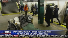 MTA adding 500 officers to fix homeless problem
