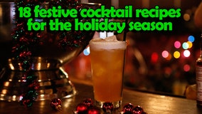 18 festive cocktail recipes for the holiday season
