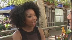 Brandy Norwood loves Broadway