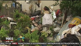 Queens home exterior resembles 'makeshift landfill'