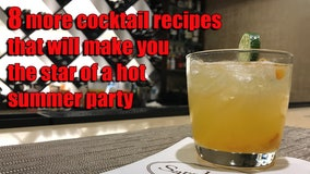 8 more cocktail recipes that will make you the star of a hot summer party