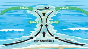 What to do if you're caught in a rip current