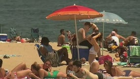 NJ proposal would make beachgoers fasten umbrellas to the sand