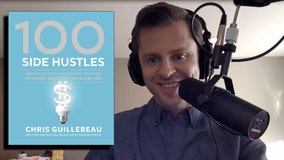 Author-entrepreneur Chris Guillebeau says you can side-hustle your way to financial freedom