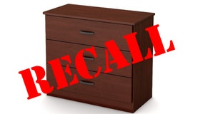 RECALL: Death of toddler prompts recall of over 316K chests of drawers