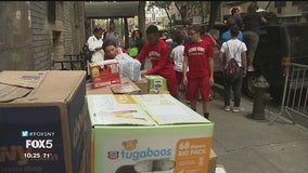 Westchester students host donation drive for Hurricane Dorian victims