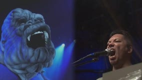 The puppeteer who brings King Kong's face and voice to life on Broadway