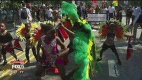 West Indian Day and J'ouvert celebrations