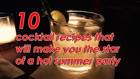 10 cocktail recipes that will make you the star of a hot summer party