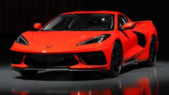Corvette lottery winner can't claim prize because the car is too hot