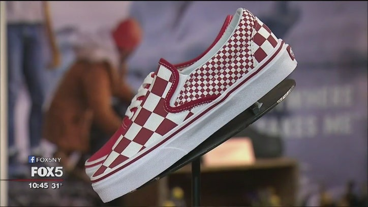 Flipping Vans sneakers is latest viral