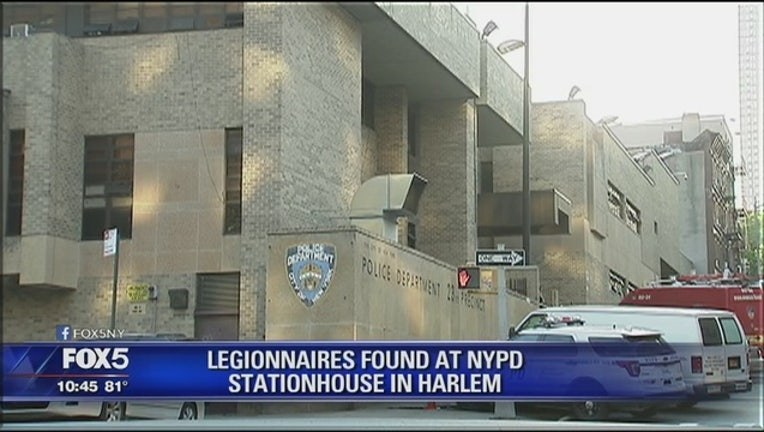 legionnaires NYPD