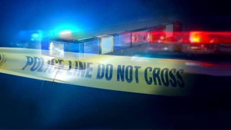 KSAZ - police lights crime scene tape