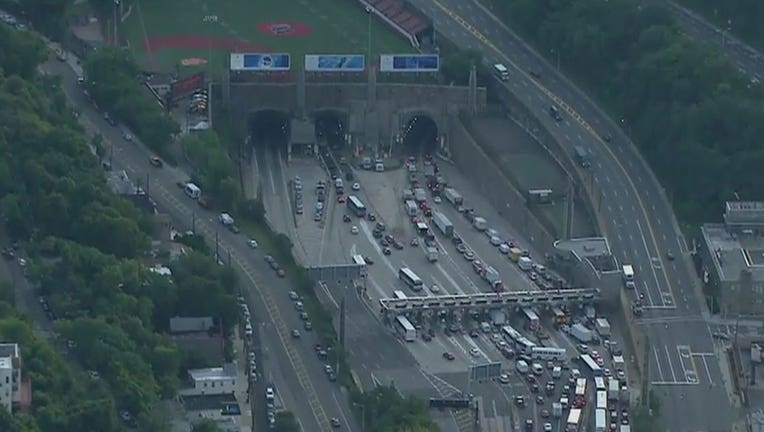 The Lincoln Tunnel is seen from New Jersey. (File/FOX5NY)