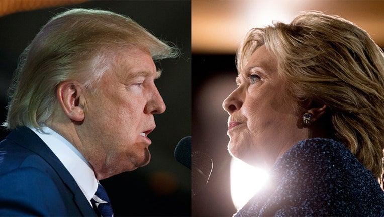 Donald Trump Hillary Clinton file