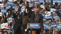 Over 20,000 turn out for Bernie Sanders rally in NYC