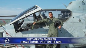 First African-American female combat pilot spreads message of making the 'gutsy move'