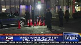 Body found in manhole