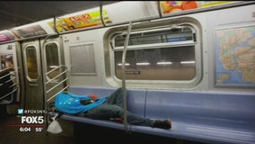 NYPD to monitor subway cameras to help battle homelessness