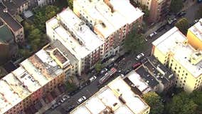 SkyFOX over Harlem shooting and fire