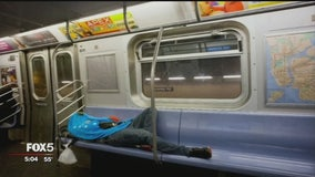 NYPD to begin monitoring subway surveillance cameras to help combat homeless problem