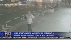 Woman raped in Manhattan after asking man for directions