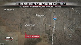Arizona man accused of killing young son in exorcism attempt