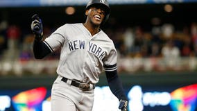 Yankees sweep Twins in ALDS