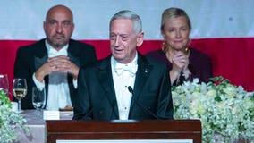 'Overrated general' Mattis zings Trump at NY charity gala