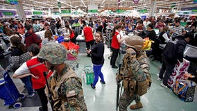 Renewed disturbances in Chile; many line up for food